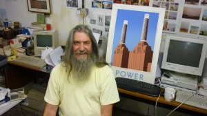 Brian Barnes, MBE. Artist and activist